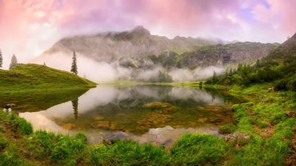 Mountain lake dreamland