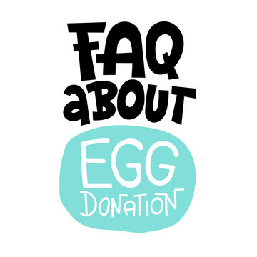 Egg donation lettering quotes