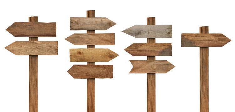 wood wooden sign arrow board plank signpost