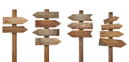 wood wooden sign arrow board plank signpost