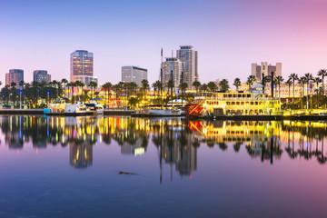 Long Beach, California, USA skyline