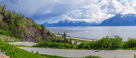 Turnagain Arm Panorama