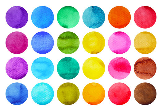 color pattern vintage modern colorful watercolor painting on paper illustration design hand drawing