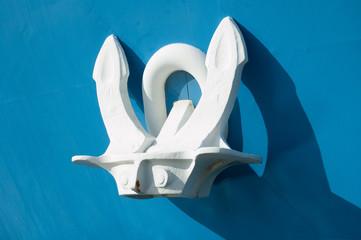 anchor of a ship
