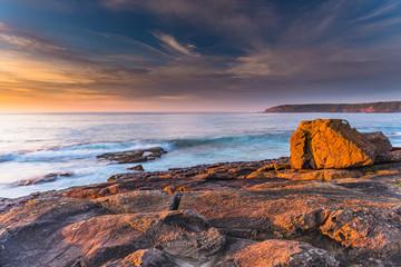 Colourful Sunrise Seascape