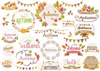 秋のタイトル文字2