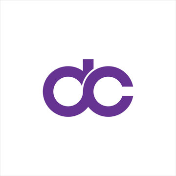 dc,cd letter logo vector icon design