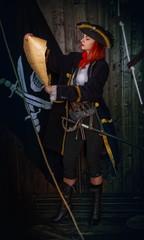 Girl Pirate Captain