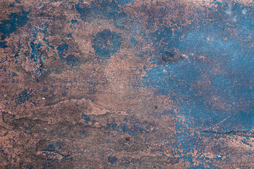Grunge rough rusty surface texture abstract background