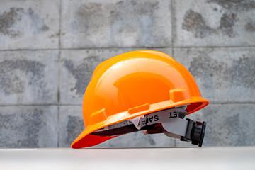 Foto op Plexiglas Wintersporten Hard safety helmet hat for safety project ,PPE for work safe