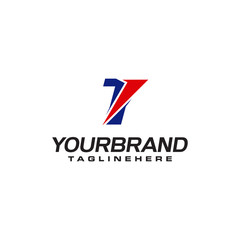 unique logo that forms the letter T matches your company. logo inspiration T