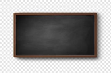 Vector illustration of horizontal menu board