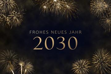 Frohes Neues Jahr 2030
