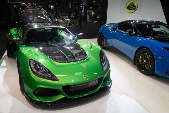 Mondial Paris Motor Show Lotus Exige Cup 430