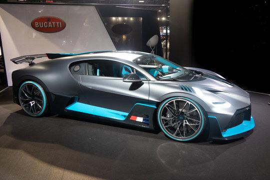 Mondial Paris Motor Show Bugatti Divo