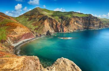Stores à enrouleur Ile Landscape of Madeira island - Portugal