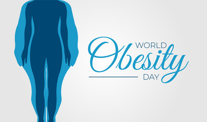 World Obesity Day Background Illustration