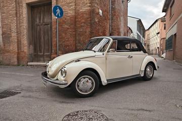 classic German car Volkswagen Type 1 (Beetle) Cabriolet