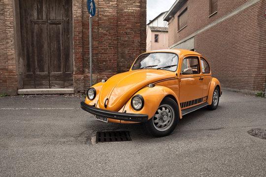 classic German car Type 1 (Beetle)