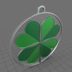 Clover medallion