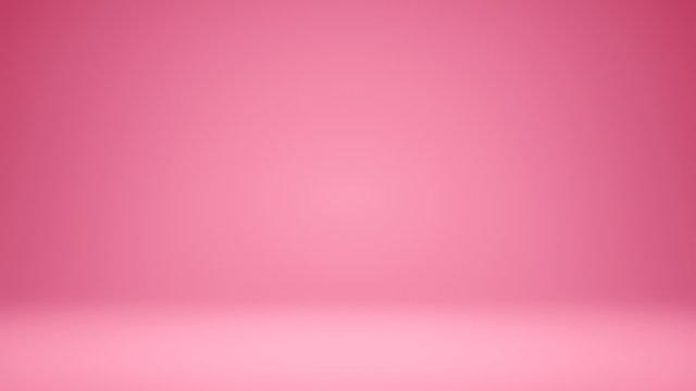 3D Illustration. Yellow seamless studio gradient background