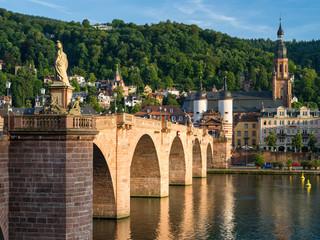 Old Town and Old Bridge in Heidelberg, Germany