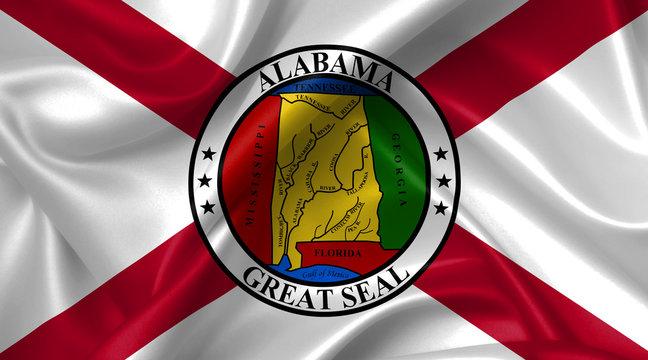 alabama flag seal