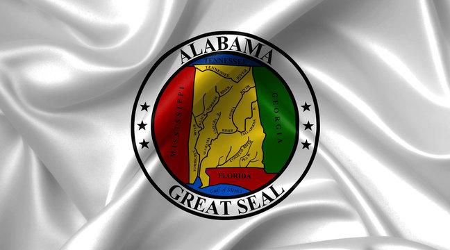 alabama seal flag