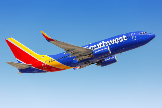 Southwest Airlines Boeing 737-700 airplane