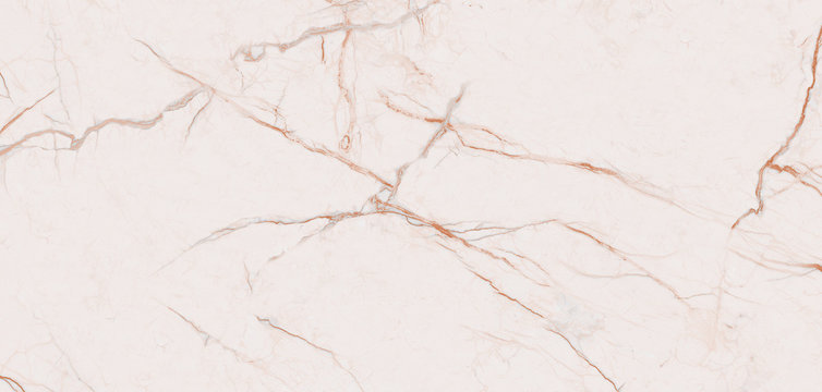 Light pink marble texture background with curly brown veins, It can be used for interior-exterior home decoration and ceramic tile surface.