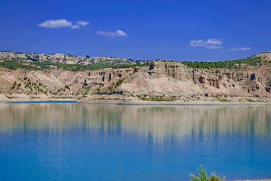 Lac Negratin, Espagne.