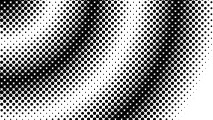 Halftone dot background Wall mural
