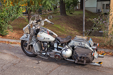 Custom motorcycle Harley-Davidson FL Electra Glide