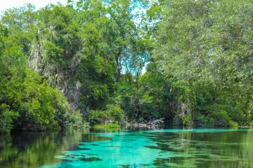 Blue Weeki Wachee Spings River