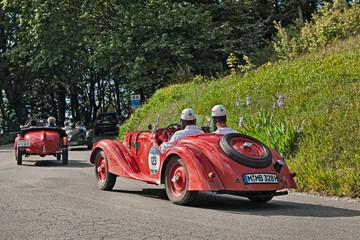 BMW  328 (1937) in Mille Miglia 2016