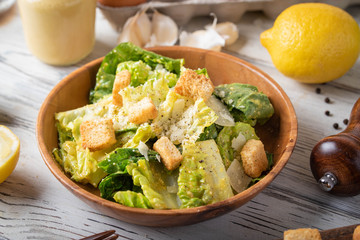 authentic mexican caesar salad image
