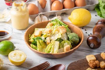 authentic mexican caesar salad image