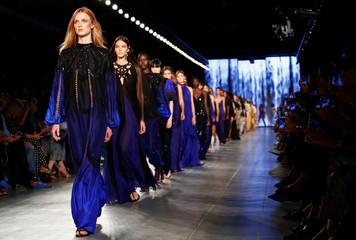 Alberta Ferretti catwalk show at Milan Fashion week