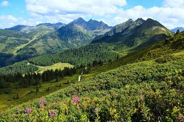 Austrian Alps-view from Planai