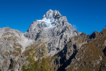 south peak of the watzmann