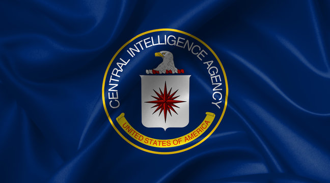 flag of the us central intelligence agency (CIA)