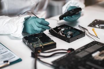 Data Forensics. Digital Forensic Investigator at Work