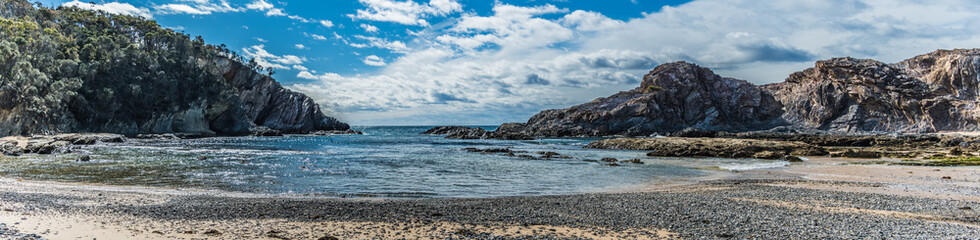 Guerilla Bay Beach Panorama