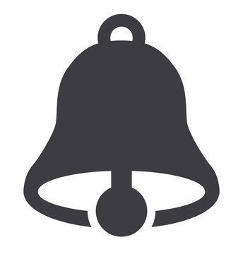 Bell icon vector illustration pictogram