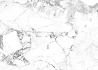 Close up of Abstract natural white and gray Marble texture surface pattern for background  or creative modern wall paper design with high resolution.