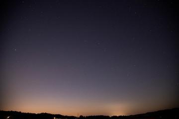 田舎の夜空 北斗七星