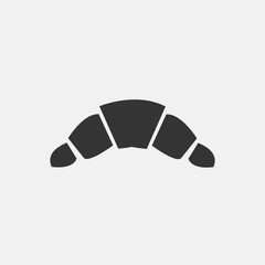 CROISSANT vector icon illustration sign