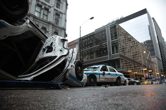 Chicago Police accident
