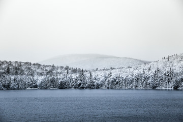Paysages Canadiens Neige
