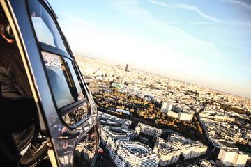 Vue exterieur helicoptere paris